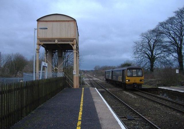 Arrival from Cheltenham