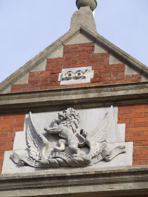 Date stamp on Building (Higham Green Hall)