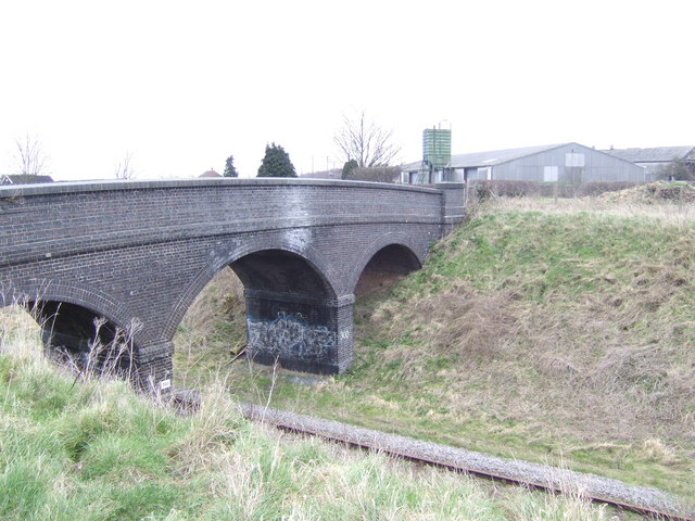 Bridge over the Great Central Railway