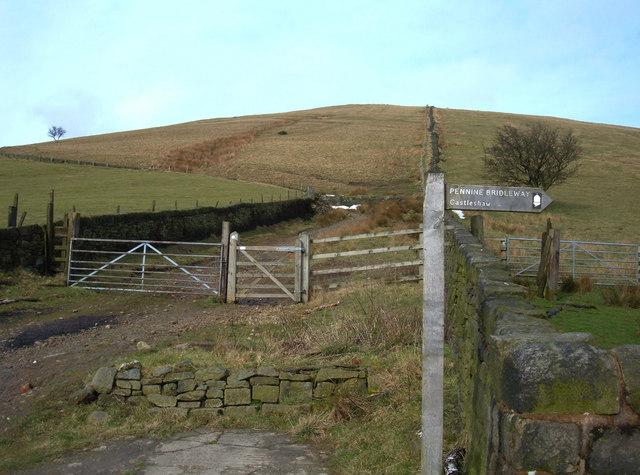 Pennine Bridleway, Castleshaw