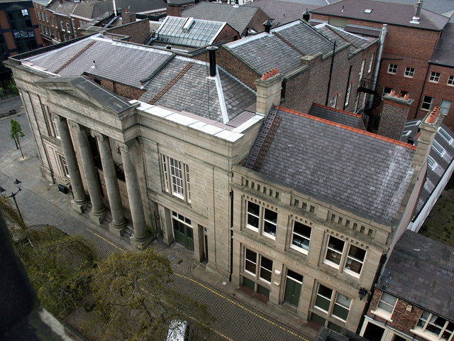 Macclesfield Town Hall and old Police Station