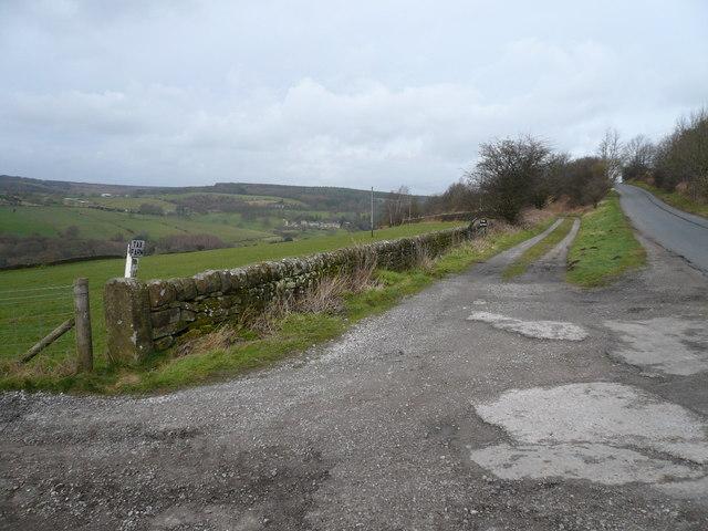 Farley Lane,Tax Farm and Tax Cottage Access Roads Meet