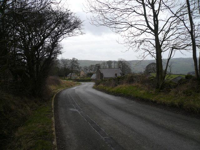 Farley Farm and Bottom Farm viewed from Farley Hill