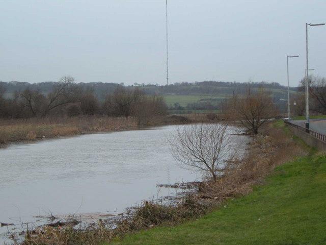 Riverbank in Tamworth