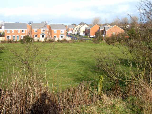 New housing estate at Ushaw Moor