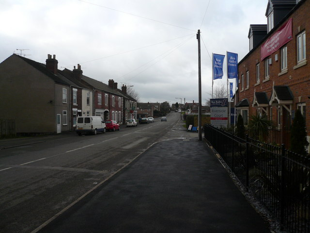 Danesmoor - Pilsley Road View