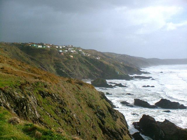 Coastline near Freathy