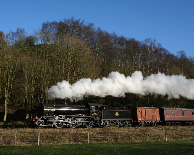 Great Marquess steam locomotive on the Churnet Valley Railway