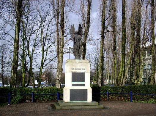 War memorial, Huyton Civic Centre