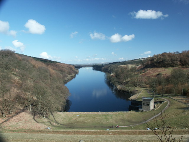 View of Fernilee Reservoir