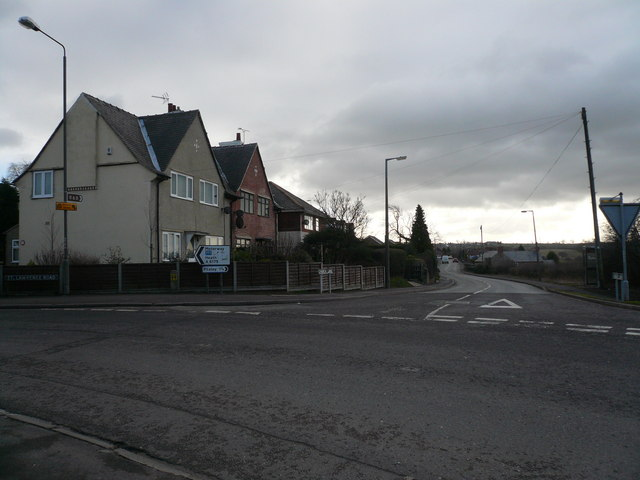 Church Lane Junction with St Lawrence Road