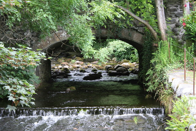 Bridge over the Ysgethin at Talybont