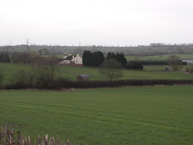 View to Braybrooke Lower Lodge.