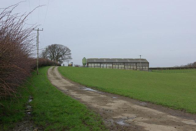 A Hilltop Barn