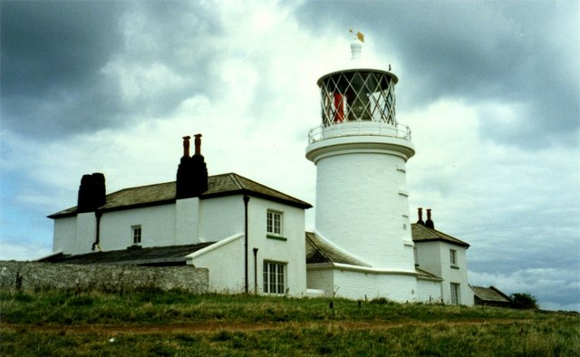 Chapel Point Lighthouse, Caldey Island