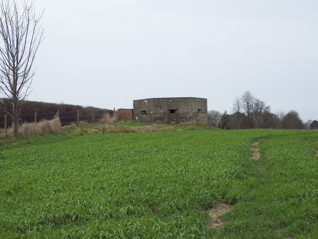 Pill Box beside the Portway