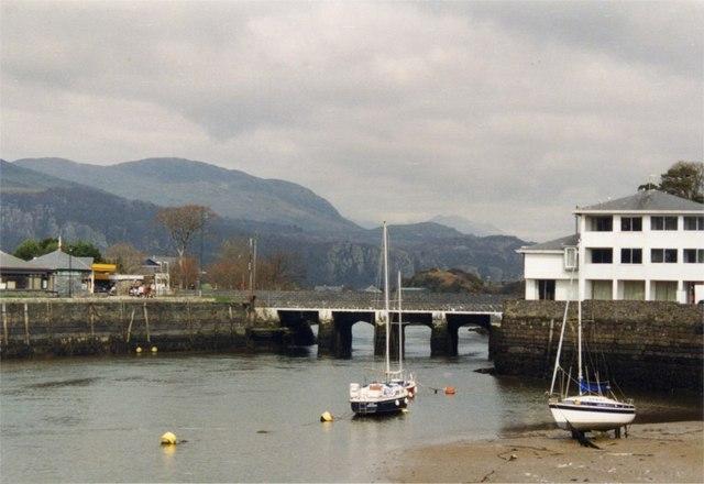 Bridge at Porthmadog