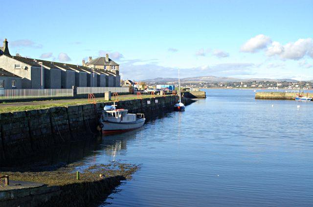 New harbour, Tayport