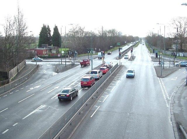 Barley Lane, Hainault Road Junction