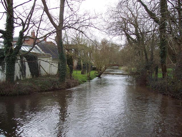River Bourne at Winterbourne Dauntsey