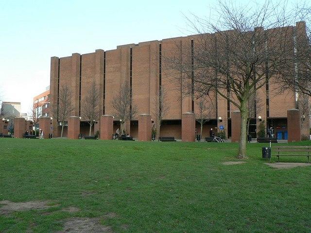 The library, Aston University