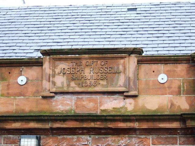 Port Glasgow Baths