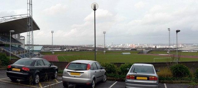 Stadium at the John Charles Centre for Sport