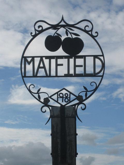 Matfield village sign