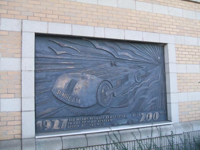 Sir Henry Segrave at Daytona