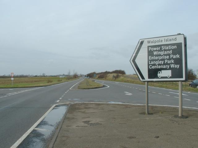 Traffic Island, A17