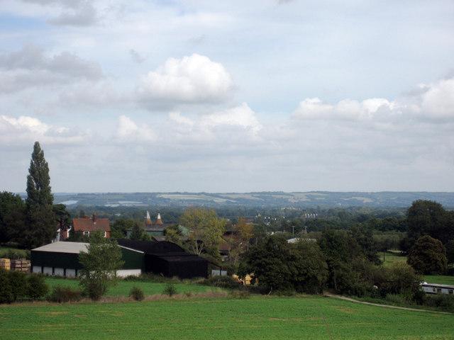 View towards Paddock Wood