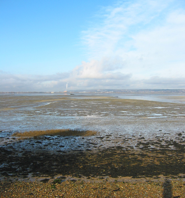 Langstone foreshore at low tide