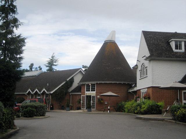 Mock Oast House at Jarvis Hotel, Tonbridge Road, Pembury, Kent