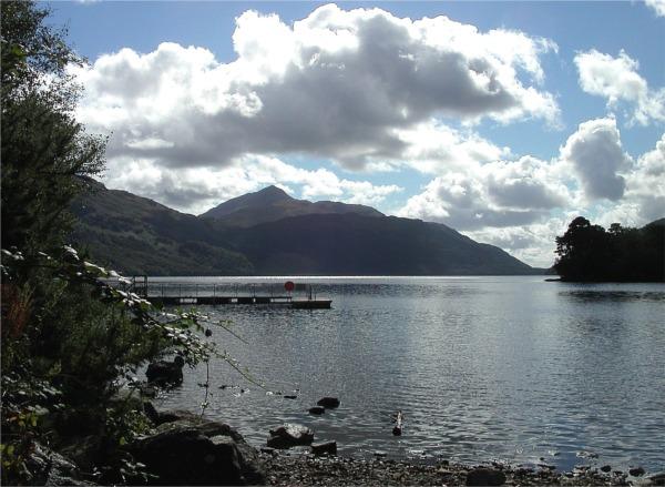 Loch Lomond shoreline