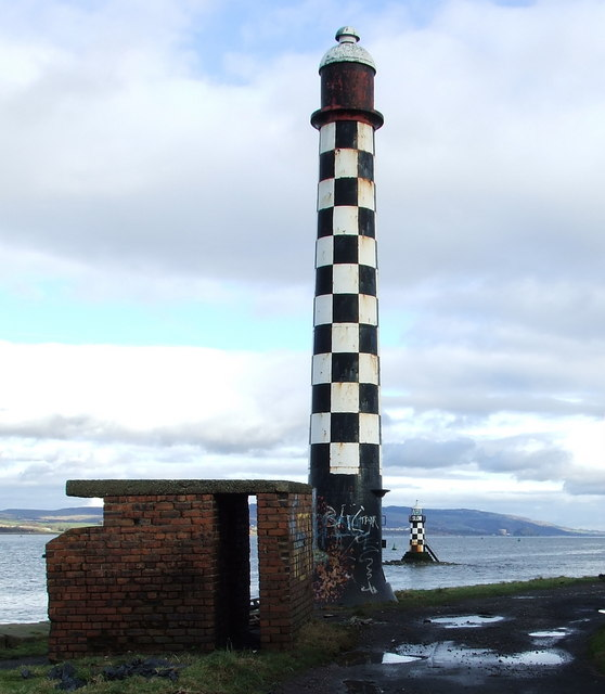 Lighthouses at Port Glasgow