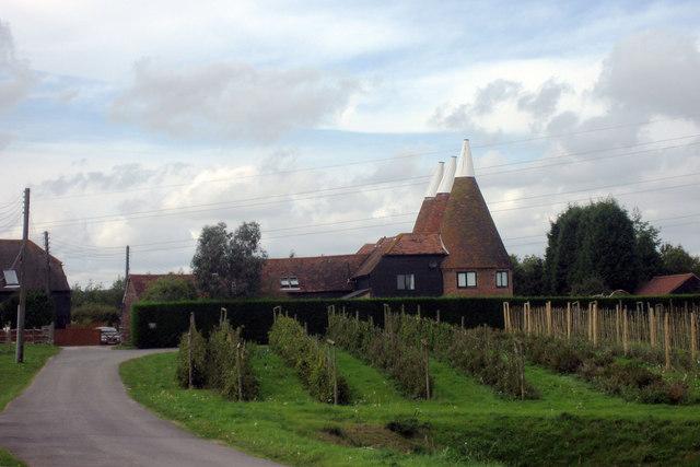 Downingbury Farm Oast, Maidstone Road, Pembury, Kent