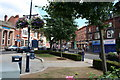 SP0783 : Moseley Village Green towards St Mary's Row by Brendan Patchell