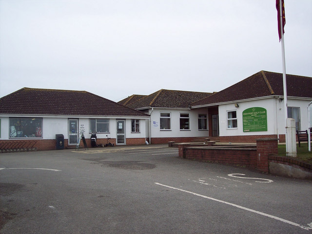 Clubhouse at High Post Golf Course