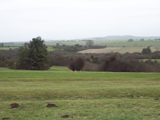 View across the greens at High Post Golf Course