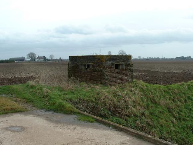 Blockhouse, Wingland Marsh