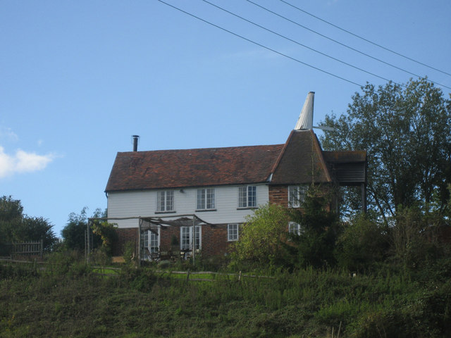 Oast House at Bentinck Farmhouse, Romford Road, Pembury, Kent