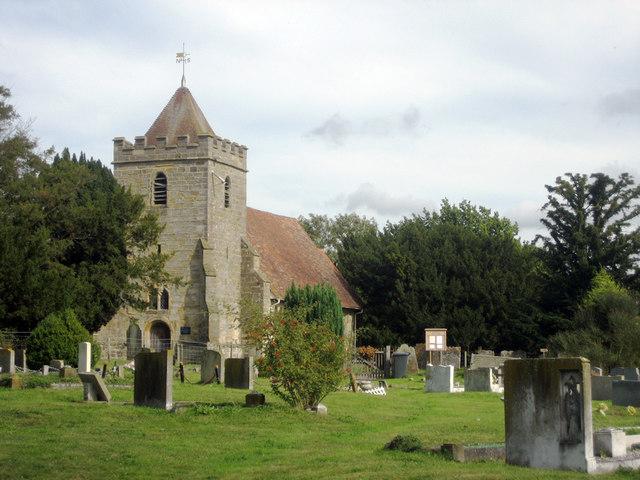 Saint Thomas à Becket Church, Church Lane, Capel, Kent