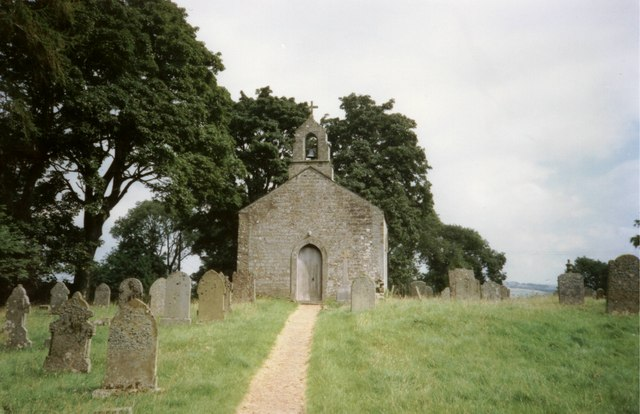 Whitfield old church