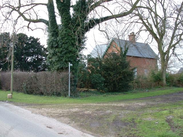 Footpath off Grange Road Wingland