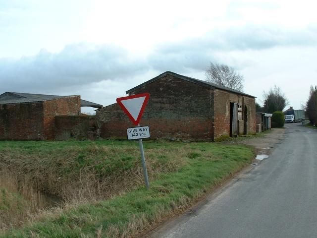 Old barns, Station Road, Walpole Cross Keys