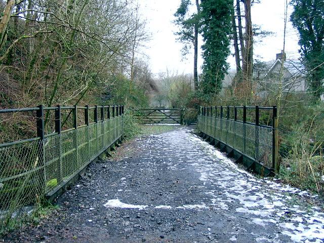 Former rail bridge, Lower Brynaman