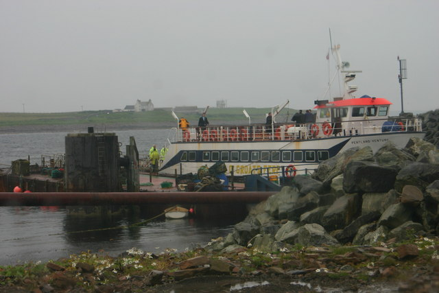 The Orkney to John O' Groats ferry