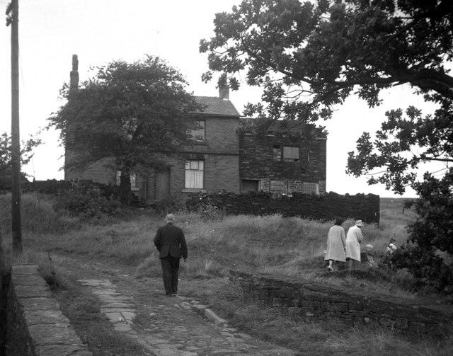 Claylands Head, Milnrow, Lancashire:  1964