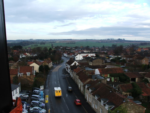 Seamer Main Street Looking Towards Irton Moor