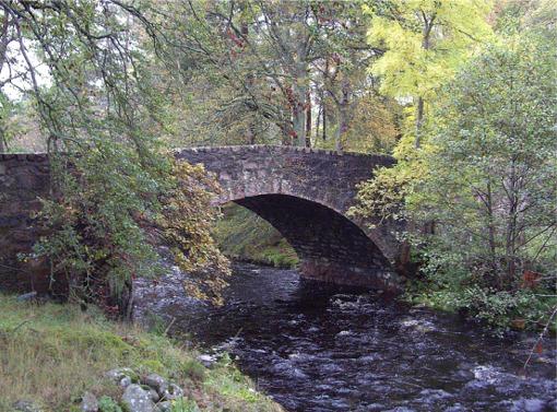 Bridge over Girnock Burn, Littlemill